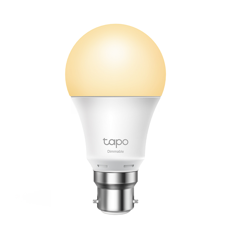 TP-Link Tapo L510B Smart WiFi Dimmable LED Bulb - Bayonet Fitting