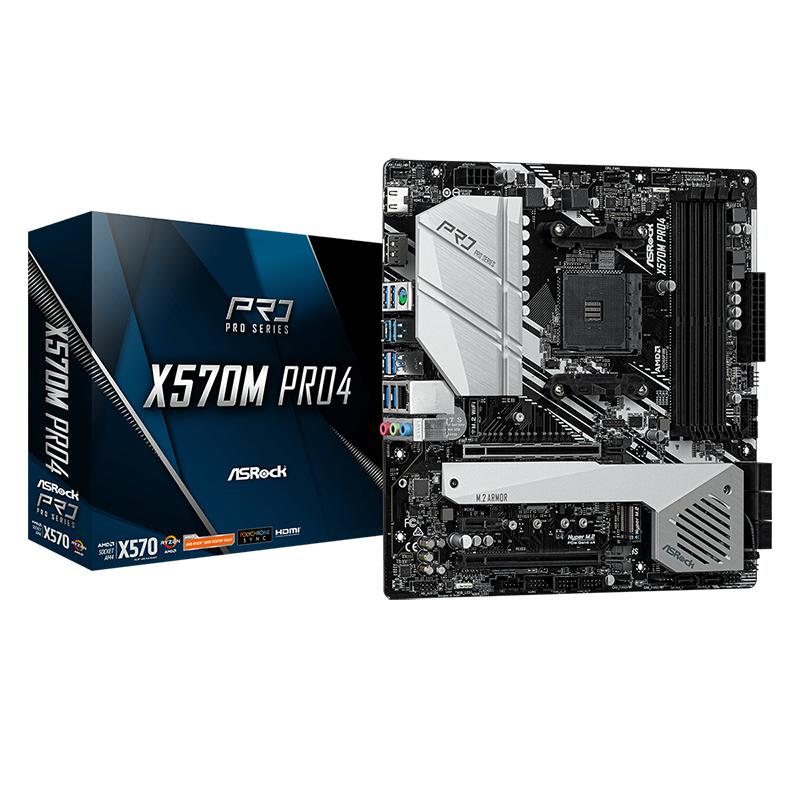 Asrock X570M Pro4 AM4 mATX Motherboard
