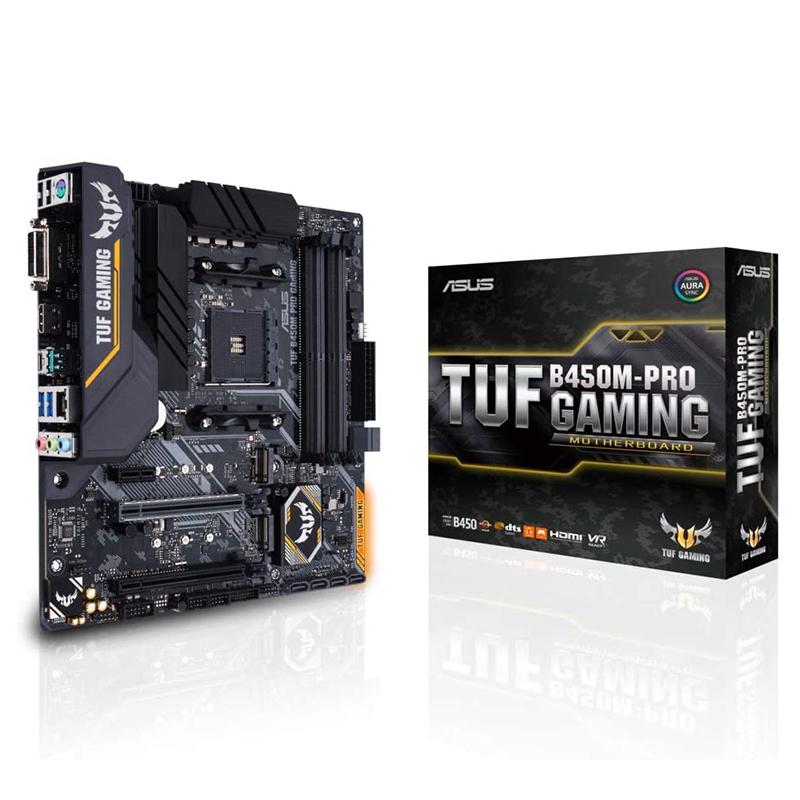 Asus TUF B450M Pro Gaming AM4 mATX Motherboard