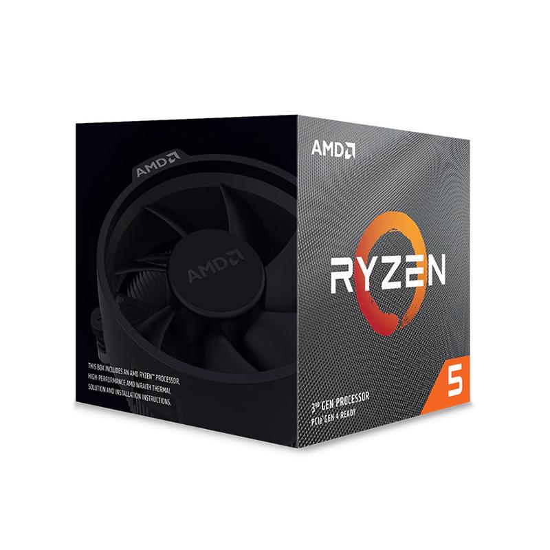 AMD Ryzen 5 3600XT 6 Core AM4 3.8GHz CPU Processor with Wraith Spire Cooler