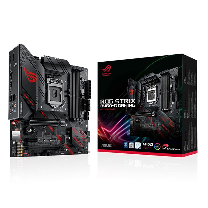Asus ROG Strix B460-G Gaming LGA 1200 mATX Motherboard