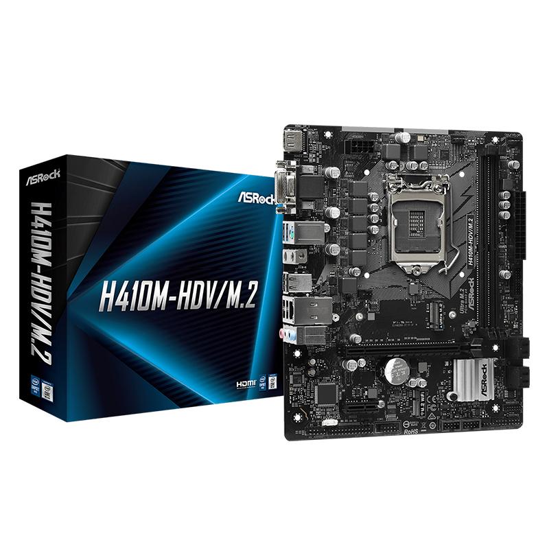 Asrock H410M-HDV/M.2 LGA 1200 mATX Motherboard