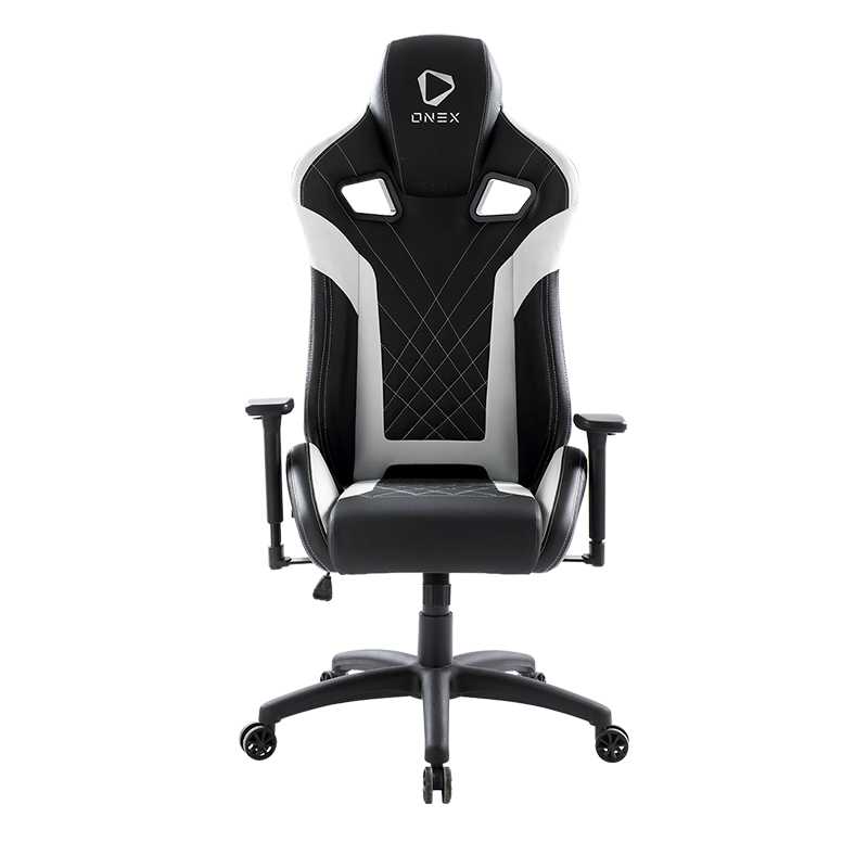 ONEX GX5 Series Gaming Chair - Black/White