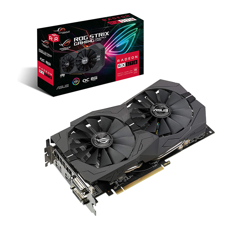 Asus ROG Strix Radeon RX 570 8G OC Graphics Card