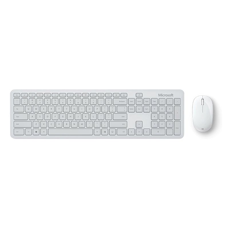 Microsoft Bluetooth Keyboard and Mouse Combo - Monza Gray