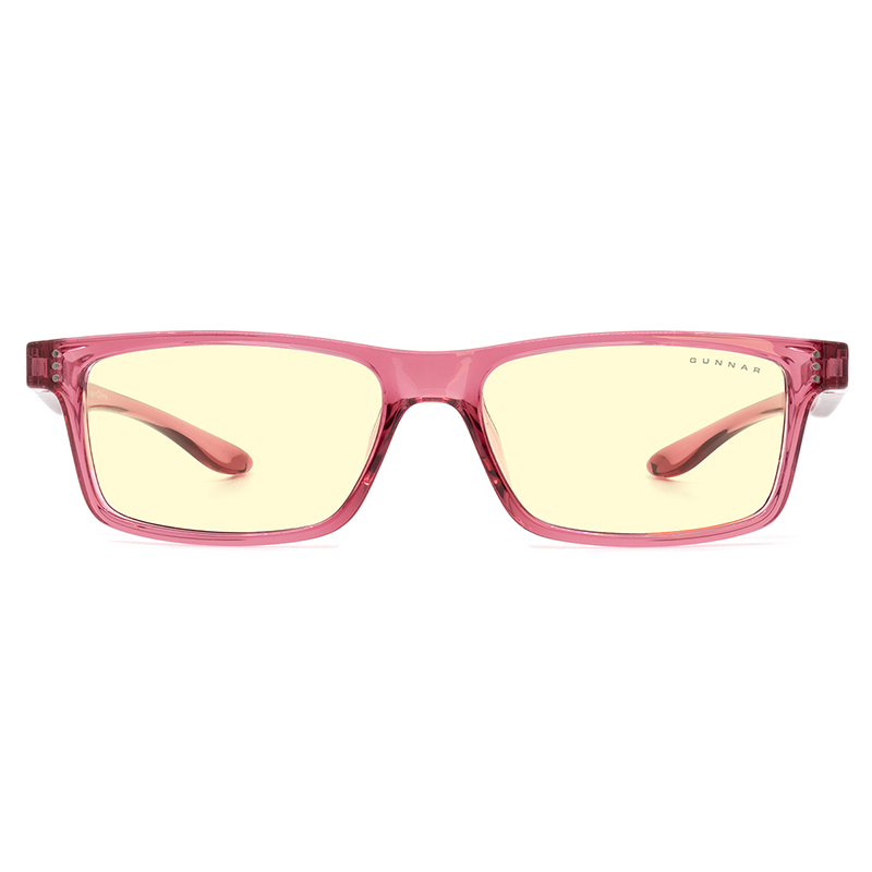 Gunnar Cruz Kids Amber Pink Indoor Digital Eyewear