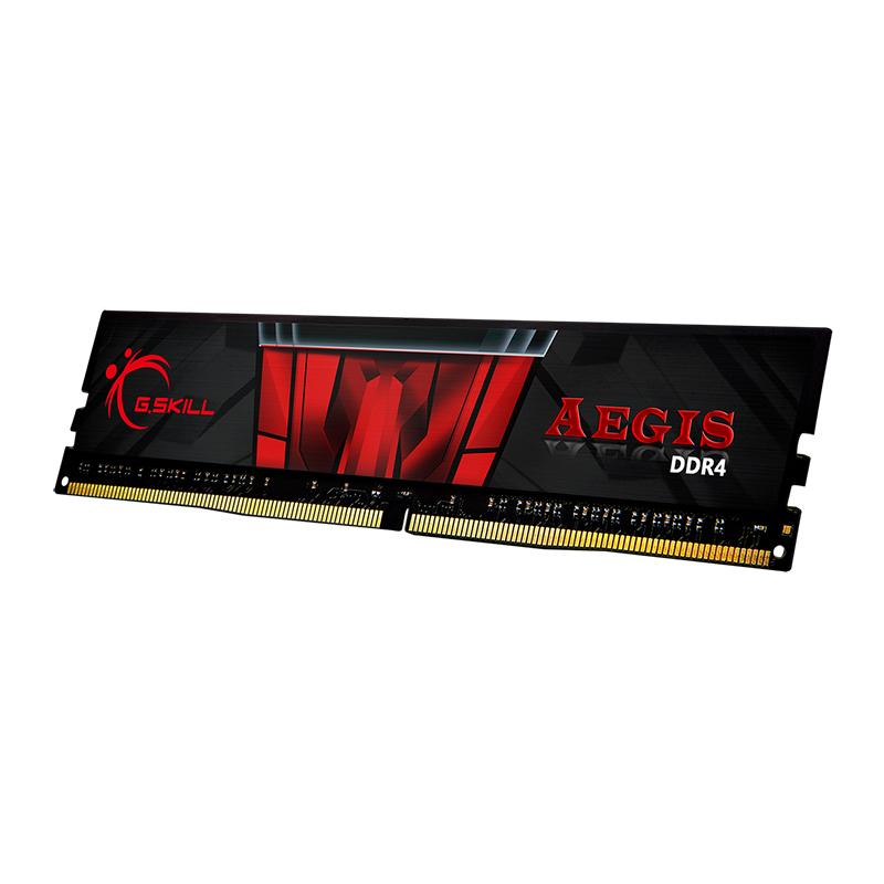 G.Skill 16GB (1x16GB)F4-2666C19S-16GIS Aegis 2666MHz DDR4 RAM