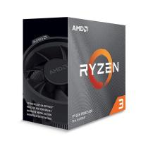AMD Ryzen 3 3100 Quad Core AM4 3.6GHz CPU Processor with Wraith Stealth Cooler