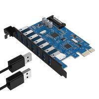 Orico 7 Port USB 3.0 PCIe Dual Chip Expansion Card
