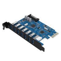 Orico 7 Port USB 3.0 PCIe Dual Chip Expansion Card