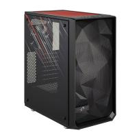 Fractal Design Meshify C Blackout TG Dark Tint Mid Tower ATX Case - Phantom Gaming Edition