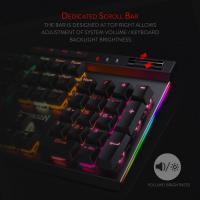 Redragon K580 VATA RGB LED Backlit Mechanical Gaming Keyboard, Blue Switch
