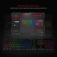 Redragon K582 SURARA RGB LED Backlit Mechanical Gaming Keyboard, Red Switch