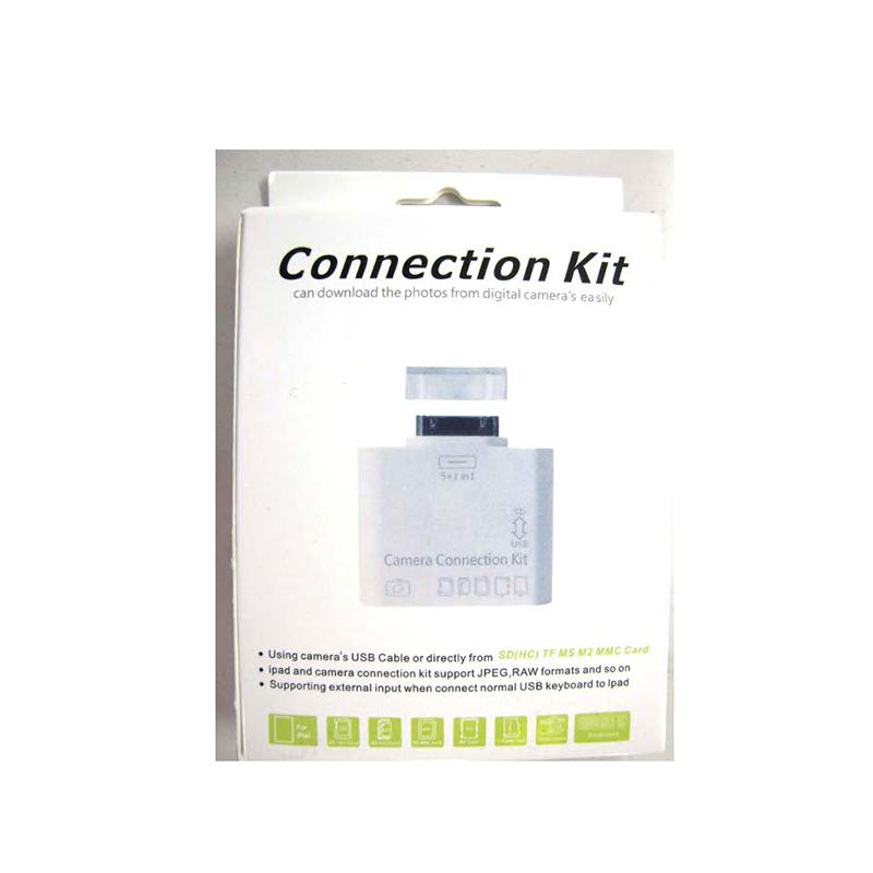 iPad SD/T2 Flash Card Reader w 1 x USB