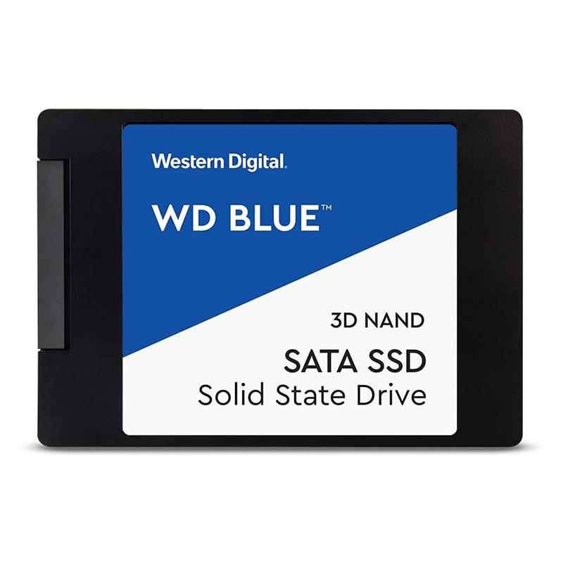 Western Digital 4TB Blue 3D NAND SSD 2.5 Form Factor, SATA Interface