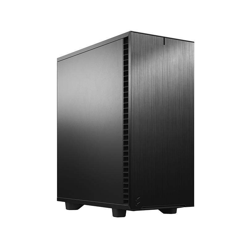Fractal Design Define 7 Compact Solid Mid Tower ATX Case - Black