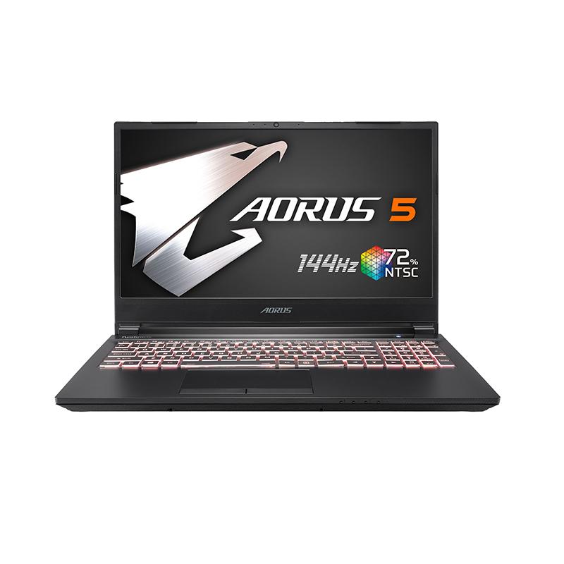 Gigabyte Aorus 15.6in FHD 144Hz i7-10750H RTX2060 512GB SSD Gaming Latop (AORUS 5 KB-7AU1130SH)