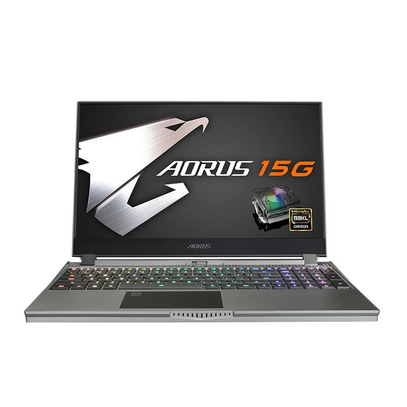 Gigabyte Aorus 15G 15.6in FHD 240Hz i7 10875H RTX2070 512GB SSD 16GB RAM W10H Gaming Laptop (AORUS-15G-WB-8AU21B0MH)