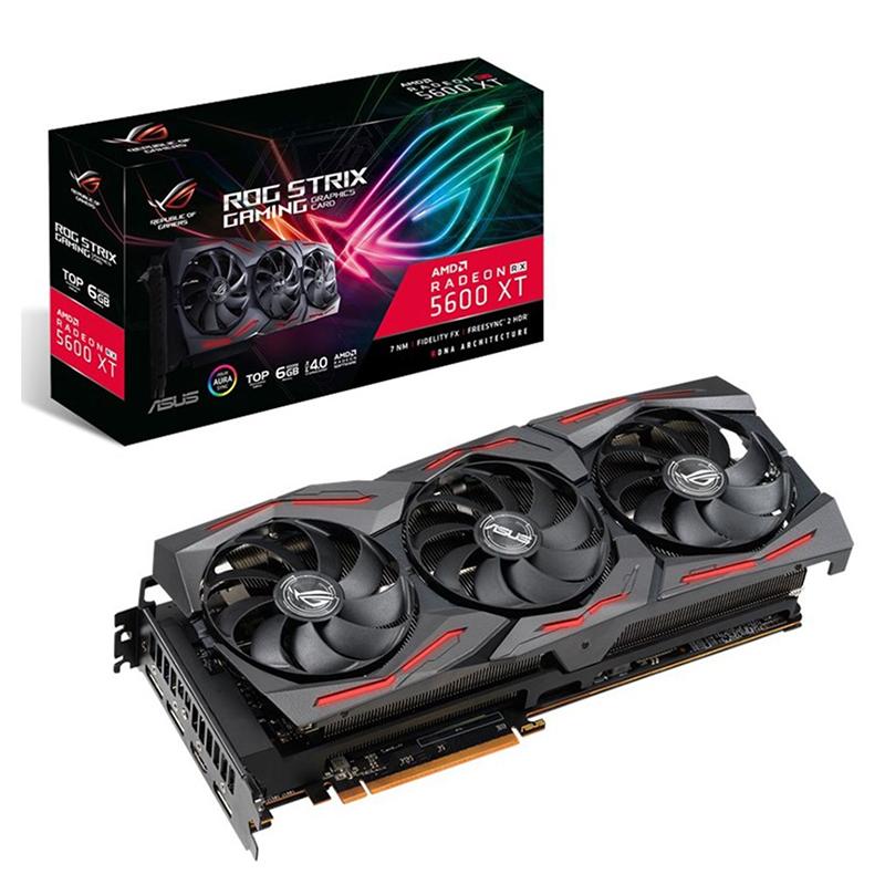 Asus Radeon RX 5600 XT ROG Strix Gaming TOP 6G Graphics Card