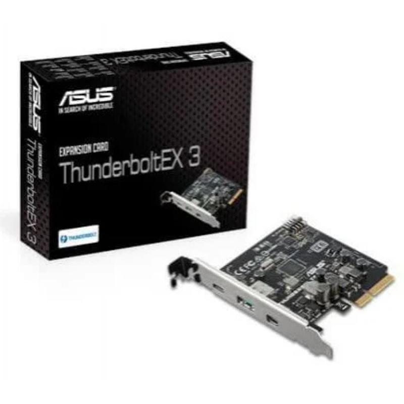 Asus ThunderboltEX 3-TR Thunderbolt 3 Mini DisplayPort PCIe Expansion Card