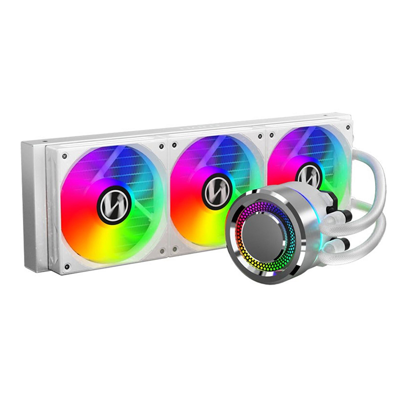 Lian Li Galahad 360 Closed Loop ARGB AIO Liquid CPU Cooler - Silver