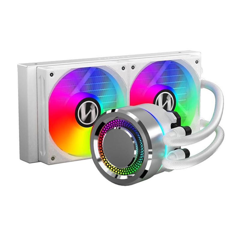 Lian Li Galahad 240 Closed Loop ARGB AIO Liquid CPU Cooler - Silver