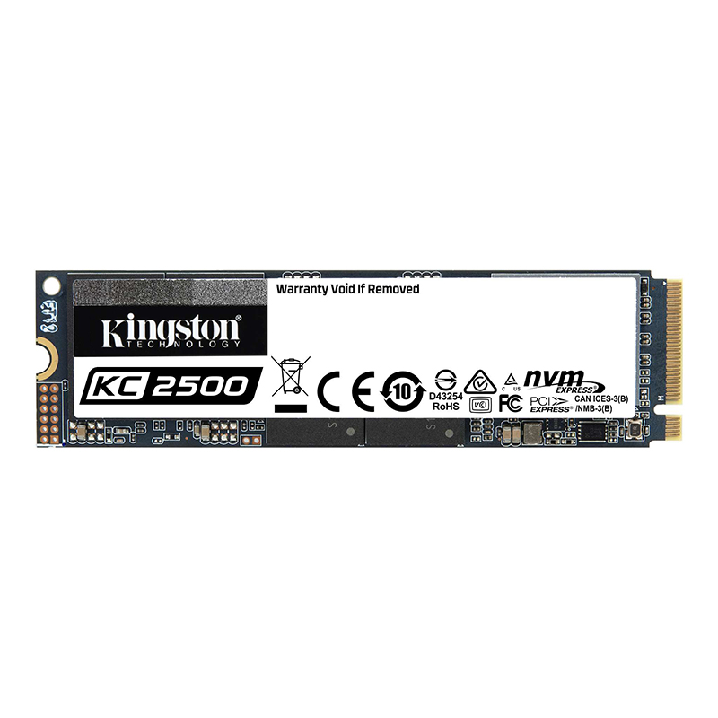 Kingston 500GB KC2500 M.2 NVMe SSD
