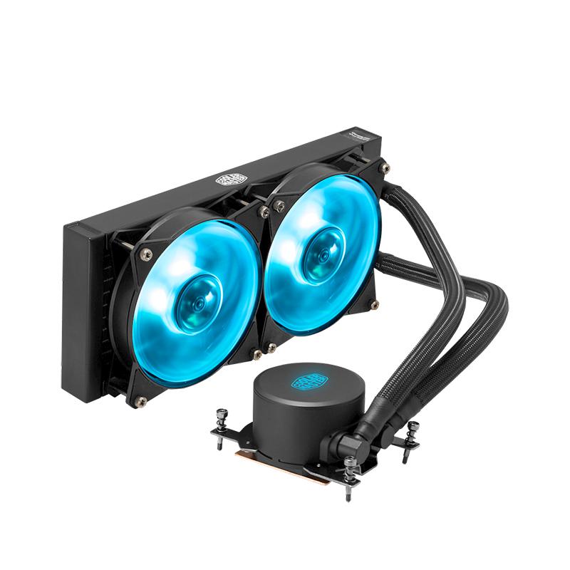 Cooler Master MasterLiquid ML280 RGB TR4 Liquid CPU Cooler with RGB Controller