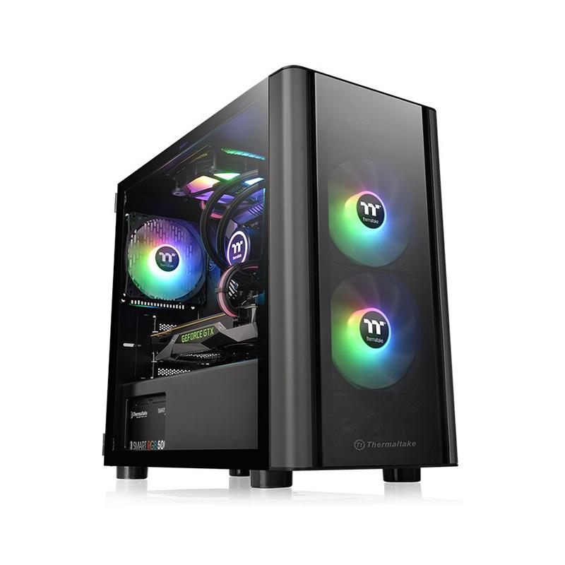 Thermaltake V150 TG mATX Case - Black