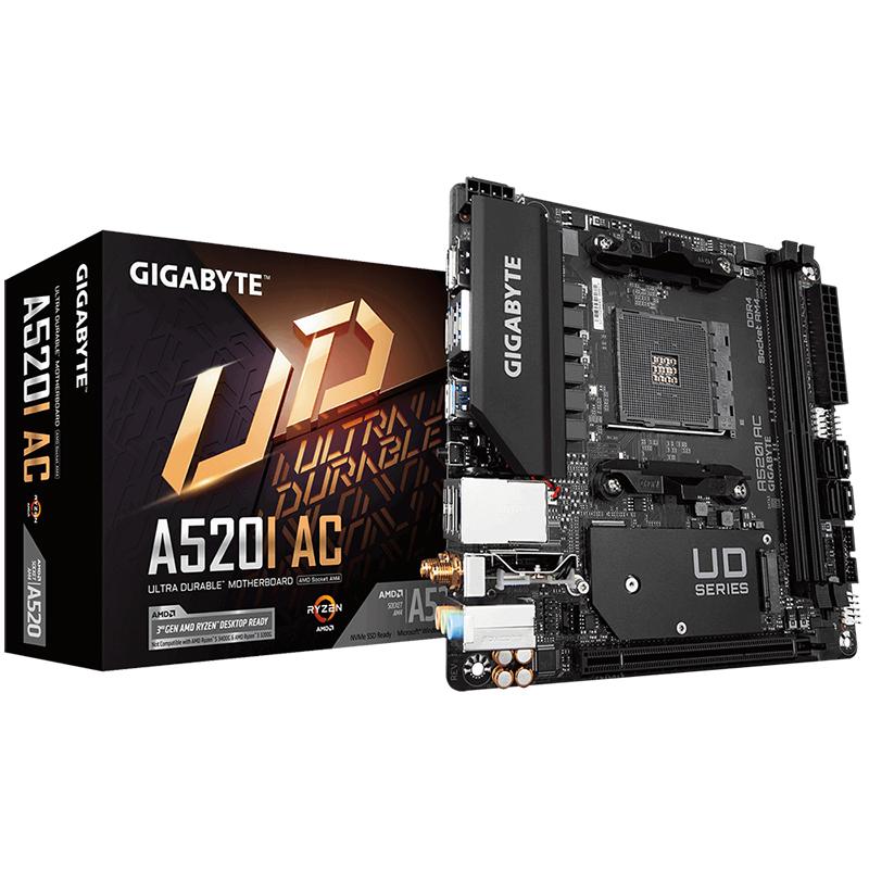 Gigabyte A520I AC AM4 ITX Motherboard