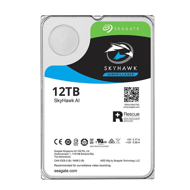 Seagate 12TB SkyHawk 3.5in SATA Surveillance Hard Drive
