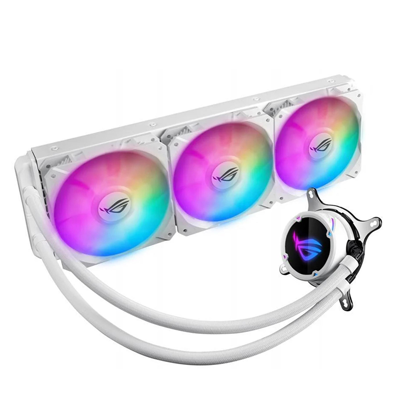 Asus ROG Strix LC 360 ARGB AIO CPU Cooler White Edition