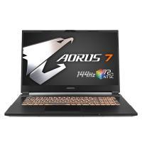 Gigabyte Aorus 7 17.3in FHD 144Hz i7 10750H GTX1660Ti 512GB SSD 16GB RAM W10H Gaming Laptop (AORUS-7-SB-7AU1130SH)