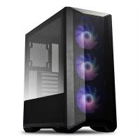 Lian Li LanCool II Mesh TG RGB Mid Tower E-ATX Case - Black