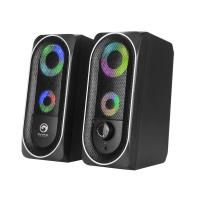 Marvo G266 2.0 Stereo LED Bluetooth Gaming Speaker