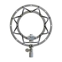 Blue Microphones Ringer Shock Mount for Snowball Silver