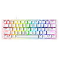 Razer Huntsman Mini Optical Gaming Keyboard Mercury - Clicky Purple Switch