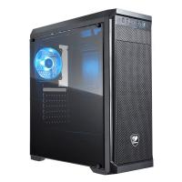 Cougar MX330 Windowed Mid Tower Case with XTC 500W PSU