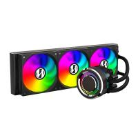 Lian Li Galahad 360 Closed Loop ARGB AIO Liquid CPU Cooler - Black