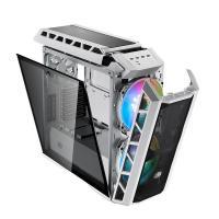 Cooler Master Mastercase H500P Mesh ARGB TG Mid Tower E-ATX Case - White