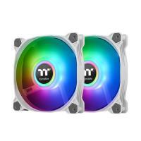 Thermaltake Pure Duo 14 140mm ARGB Sync Radiator Fan White - 2 Pack