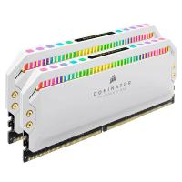 Corsair 16GB (2x8GB) CMT16GX4M2Z3200C16W Dominator Platinum RGB 3200MHz DDR4 RAM - White