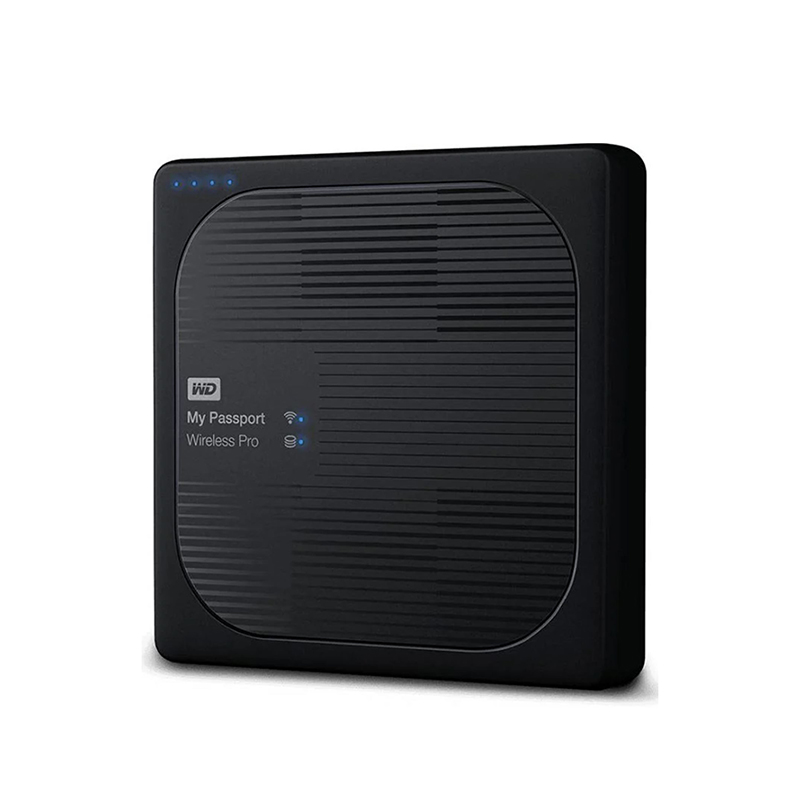 Western Digital 2TB My Passport Wireless Pro External Hard Drive - Black
