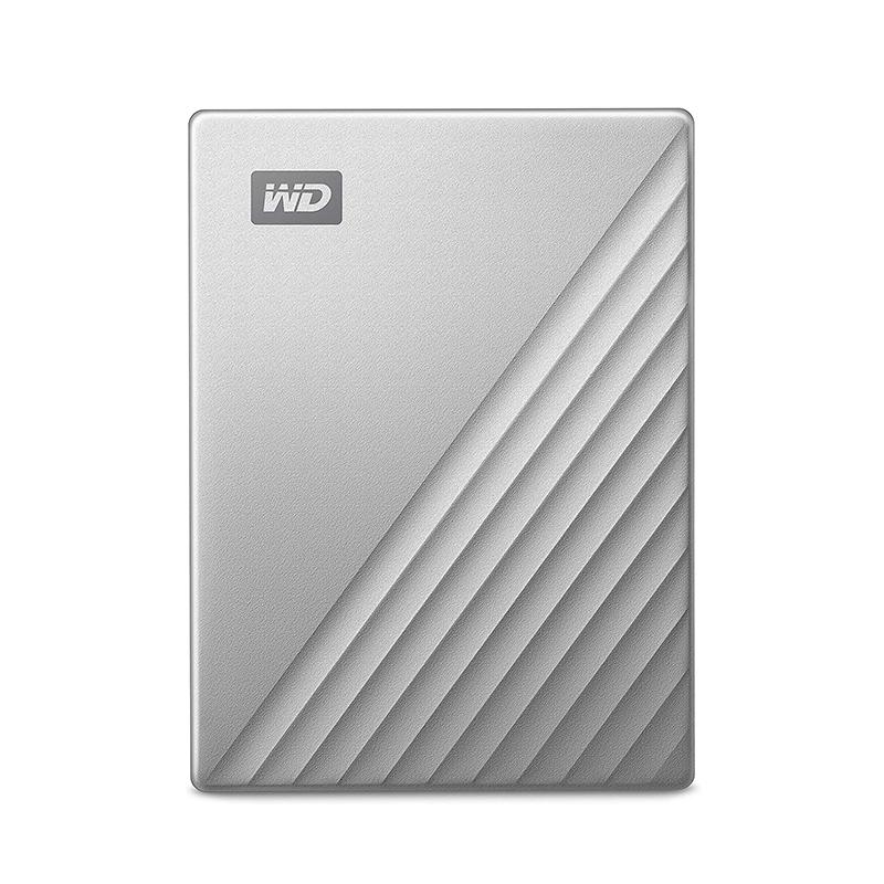 Western Digital 4TB My Passport Ultra External Hard Drive for Mac - Silver