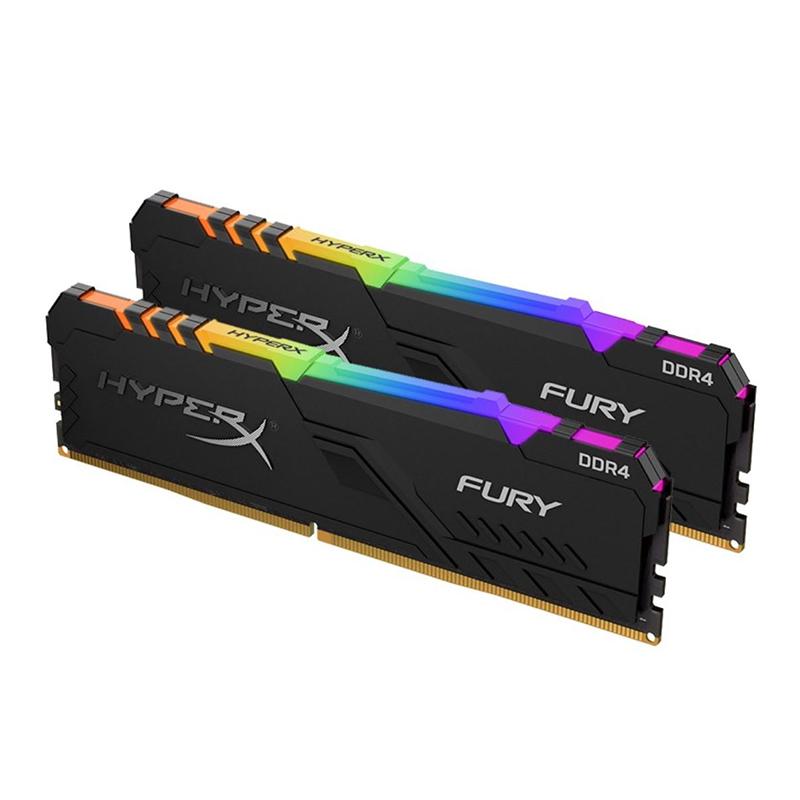 Kingston 16GB (2x8GB) HX436C17FB3AK2/16 HyperX Fury RGB 3600MHz DDR4 RAM
