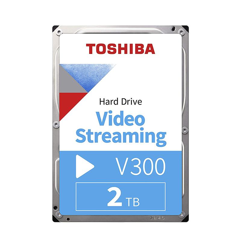 Toshiba 2TB V300 3.5in SATA Video Streaming Hard Drive (HDWU120UZSVA)