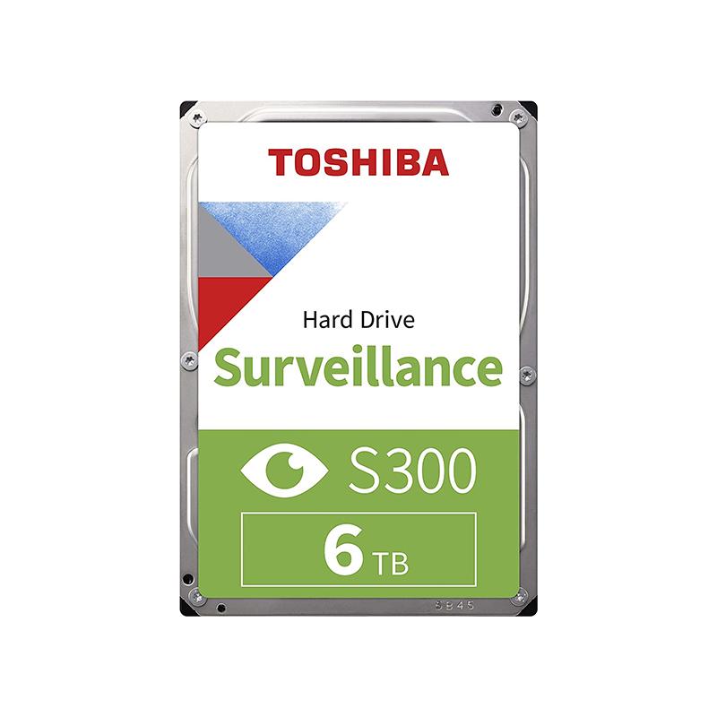 Toshiba 6TB S300 3.5in SATA Surveillance Hard Drive (HDWT360UZSVA)