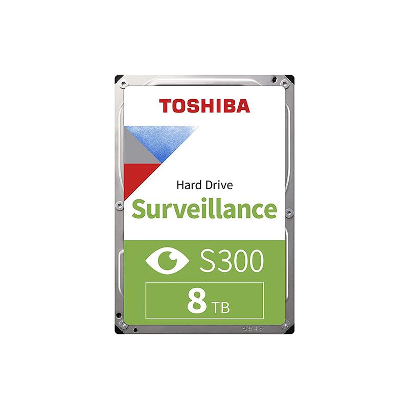 Toshiba 8TB S300 3.5in SATA Surveillance Hard Drive (HDWT380UZSVA)