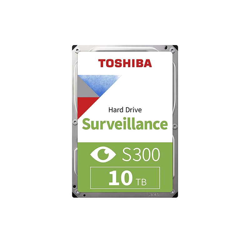 Toshiba 10TB S300 3.5in SATA Surveillance Hard Drive (HDWT31AUZSVA)