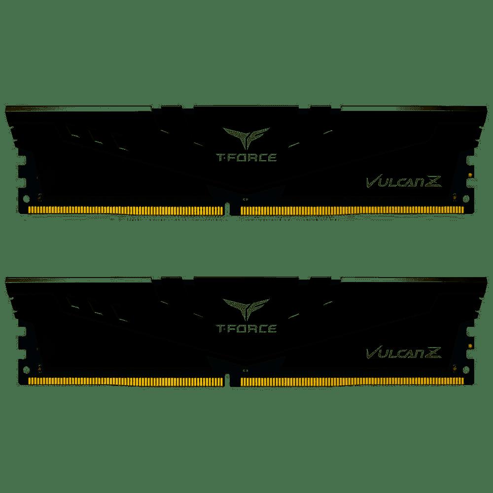 Team 16GB (2x8GB) TLZGD416G3200HC16CDC01 T-Force Vulcan Z 3200MHz DDR4 RAM - Grey